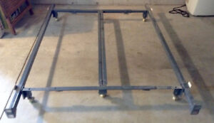 Queen size Bed Rail with wheels