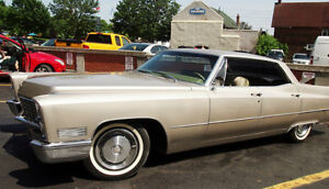 1967 Cadillac DeVille Sedan - Classic Car Collector's Dream