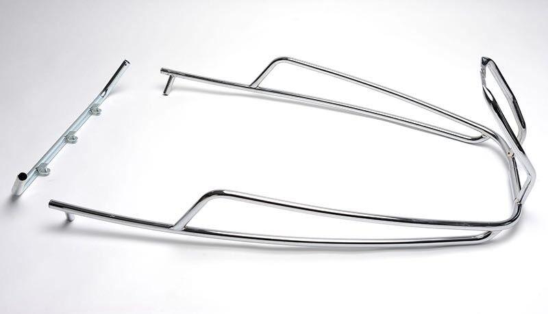 Crash Bars Rear Chrome ET2 ET4 LX S Double pipe Vespa Piaggio Cuppini