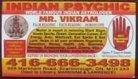 INDIAN ASTROLOGER & PSYCHIC  MR.VIKRAM (specialist)