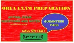 REAL ESTATE OREA EXAM STUDY GUIDES