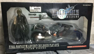 Final Fantasy VII Cloud and Fenrir Action Figure