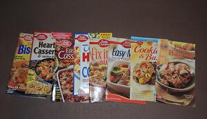 """BETTY CROCKER"" Cook Books"