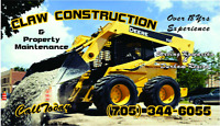 Heavy equipment& hauling services