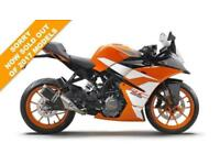 2016 KTM RC 125 WHITE, BRAND NEW! ON THE ROAD