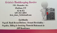 IN NEED OF A BOOKKEEPER