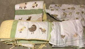 Pottery Barn Kids Crib Bedding