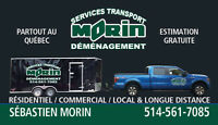 Services Transport Morin/Déménagement
