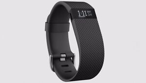 Fitbit Charge HR (large band)(black)