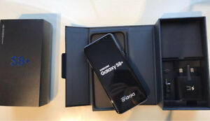 Samsung S8 with Warranty, 128 Micro SD Card and Otterbox Case