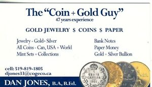 COINS- Retired teacher  CKSS +JMSS BuyingAll COINS 48 Years Exp,