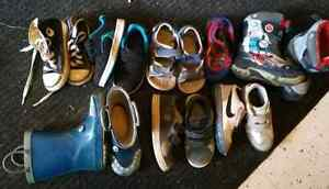 Shoes size 8 and 9. Size 3 pants, size one lot Kitchener / Waterloo Kitchener Area image 1