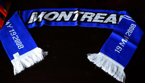 MONTREAL IMPACT FC 54 INCH 2008 SEASON TICKET Blue Soccer SCARF