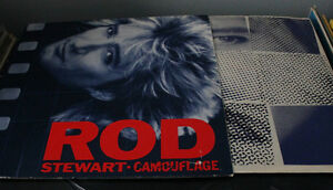 Rod Stewart - Camouflage : Disque Vinyle *Germany* 1984