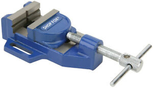 "SHOP FOX 3"" TILTING JAW DRILL PRESS VISE D4068"
