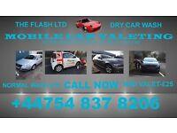 Mobile dry hand car wash and valet service Bradford Leeds Halifax