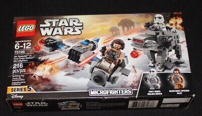 NEW Lego Star Wars Ski Speeder vs. First Order Walker (75195)
