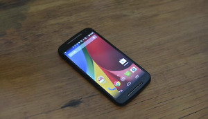 Motorola g 2nd generation 8GB with 16GB micro SD Card.