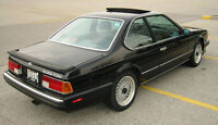 1988 BMW 6-Series Sport Coupe (2 door)
