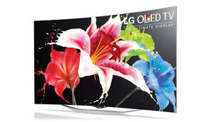 "55"" LG 1080p 3D Curved OLED Smart TV"