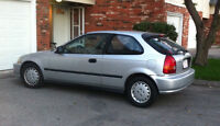 1997 Honda Civic Hatchback with free studded winters !!