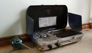 Great 2-in-1 Propane Stove and Grill