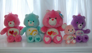 Care Bears Lot of 5. Two talking bears, One Carlton Bear tagged. St. John's Newfoundland image 1