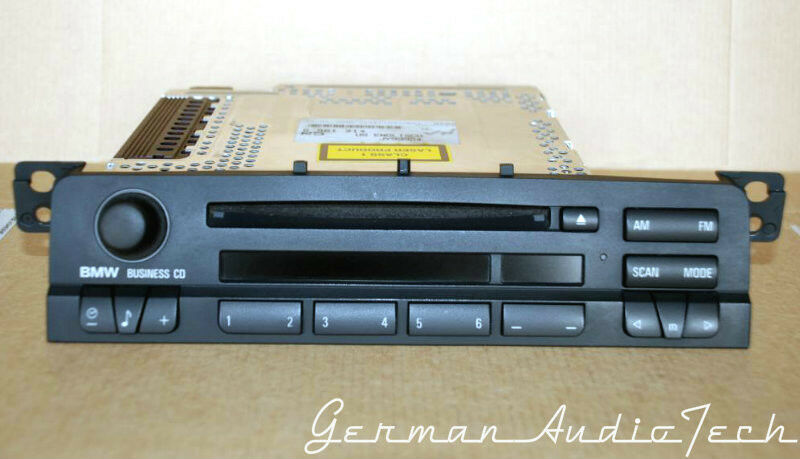 bmw e46 business cd ipod player radio 2002 2003 2005 2006. Black Bedroom Furniture Sets. Home Design Ideas