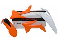 New Plastic Kit OEM OR WT KTM SX SXF 125/250/350/450 11-12 2011 2012 Plastics