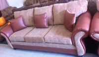 New 3 Piece Traditional Sofa Set Made In Canada