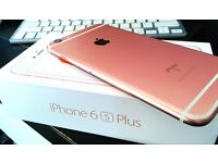 iPhone 6S plus rose gold 16GB UNLOCKED brand new replacement set from Apple with charger only