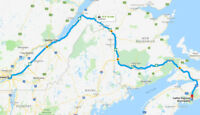 Ride share Montreal to Halifax June 21