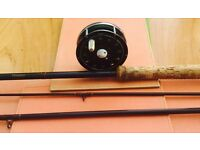 DAIWA SALMON ROD AND REEL ......