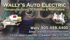 24/7  Starters & Alternators for all makes