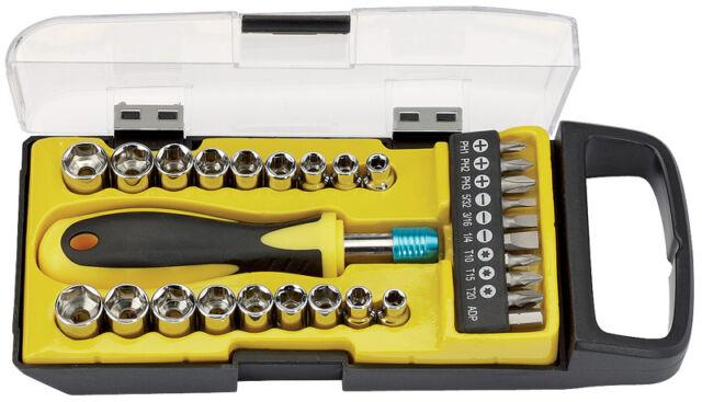 Draper 29 Piece Socket and Bit Set (DRA09557)