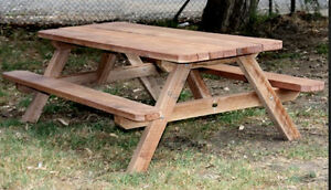 Need a picnic table