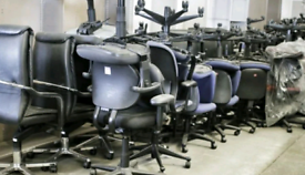 Selection of Excellent ergonomic office chairs and desks