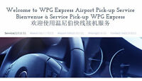 WPG Express airport shuttle service