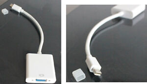 Mini Display Port - VGA Adaptateur (MacBook Pro, etc) NEUF / NEW