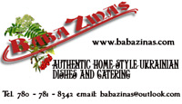 Ukrainian  dishes and catering