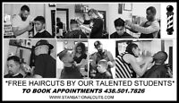 ***** FREE HAIRCUTS BY OUR TALENTED STUDENTS *****