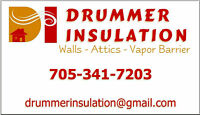 Drummer Insulation - Attic Insulation Specialists