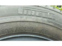 Pirelli tyre on a VW Golf/Bora full size spare wheel