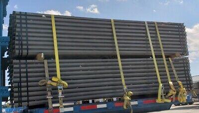 Steelking Pallet Rack Crosssupport Beam Teardrop Style - 3 H 12 Ft Long