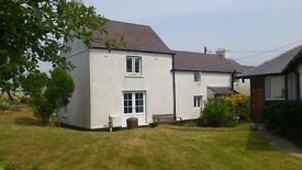3 bed cottage with shared garden for rent in Southgate, Gower close to stunning Three Cliffs Bay