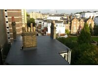 Flat roof repairs and waterproofing - call 07783984695 for free estimate