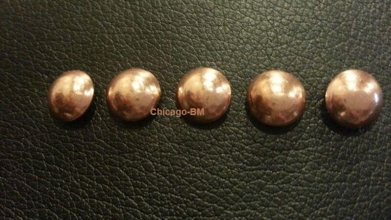 "3/8 DIA COPPER 1/2"" L Nails Upholstery Tacks Decorative Nail 100-200-500-1000"