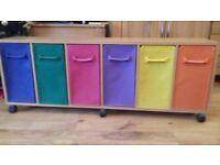 Storage Unit -Multi-coloured Drawers