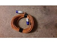 Electric Hook Up Mains Lead 20m approx