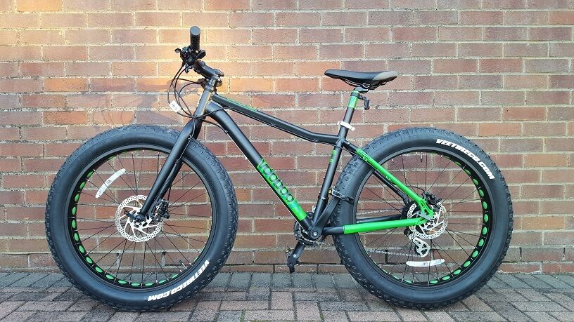 "Voodoo Wazoo Fat Bike 18"" frame virtually new"